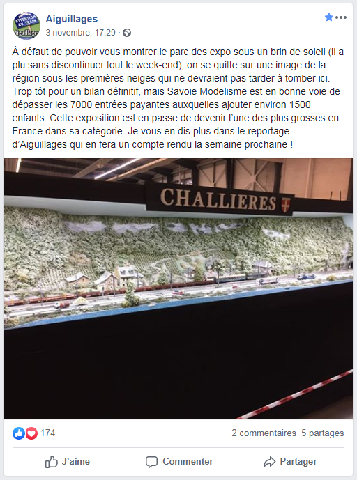 Expo à Chambéry les 2 et 3 Novembre 2019 - Page 3 Savoie10