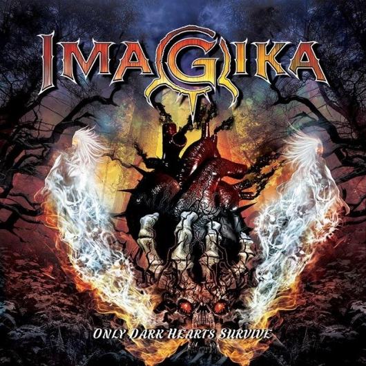 "IMAGIKA  ""Only Dark Hearts Survive""  (Heavy Power - SEPT 2019) 63377-10"