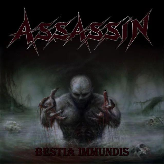 "ASSASSIN  ""Bestia Immundis"" (Thrash Allamagne - FEV 2020) Assass10"