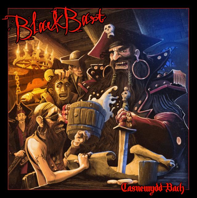 """BLACKBART  """"Casnewydd-Bach"""" (Heavy - France 2018) Bla10"""