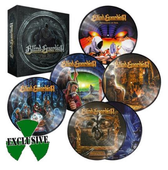 BLIND GUARDIAN Picture Disc BOX  (Juin 2019) Blind10