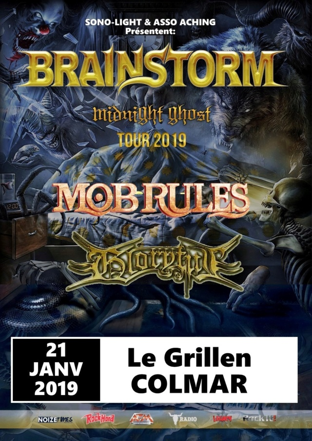 MOB RULES Beast Reborn (2018) Heavy Metal ALLEMAGNE Brain_11