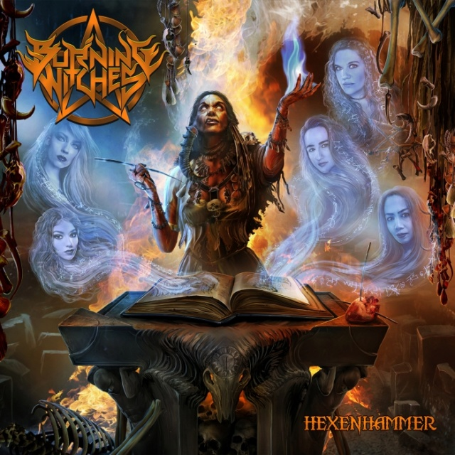 BURNING WITCHES Hexenhammer (2018) Heavy Metal SUISSE Burnin10