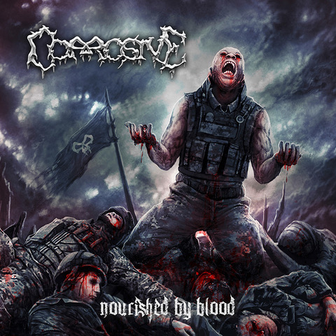 "CORROSIVE  ""Nourished By Blood""  (Death Metal - AVR 2019) Corros10"