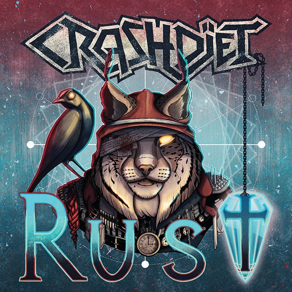 "CRASHDÏET  ""Rust"" (Hard Rock - SEPT 2019) Crashd10"