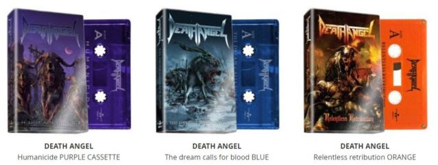 DEATH ANGEL ressort des K7 de trois albums. (MAI 2019) Death_11
