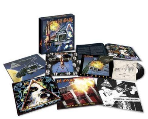 DEF LEPPARD Box  Vinyles (2019) Def10