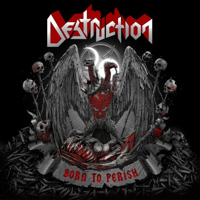 "DESTRUCTION ""Born To Perish""  (Thrash - AOUT 2019) Destru10"
