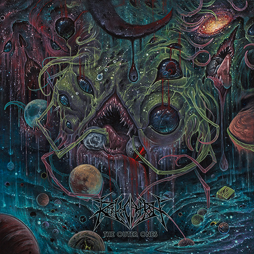"REVOCATION  ""The Outer Ones"" (Death Metal - SEPT 2018) Fifth12"