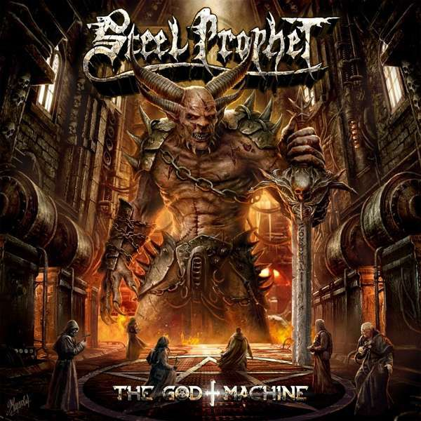 "STEEL PROPHET  ""The God Machine"" (AVR 2019) Good10"