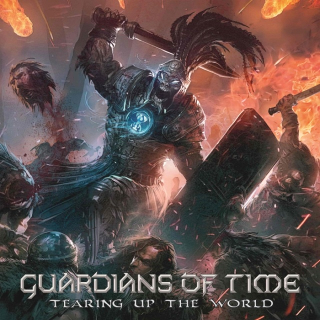 "GUARDIANS OF TIME  ""Tearing up the World""  (Power Metal 2018) Guardi10"