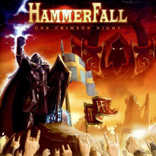 "HAMMERFALL  ""One Crimson Night"" 2003 (LP  Live - AVR 2019) Hamm10"