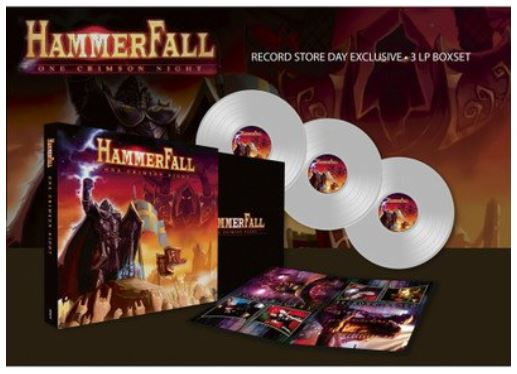 "HAMMERFALL  ""One Crimson Night"" 2003 (LP  Live - AVR 2019) Hamme10"
