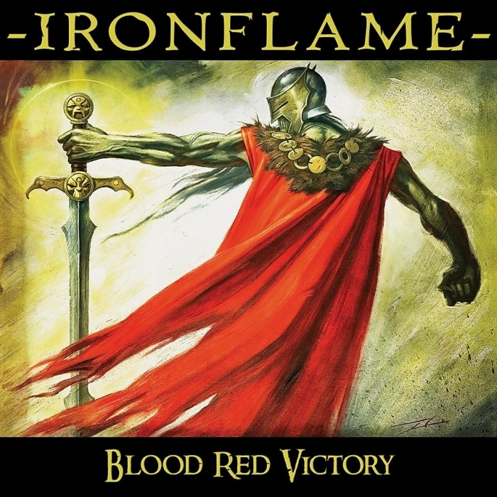"IRONFLAME  ""Blood Red Victory""   (Heavy Metal - FEV 2020) Ironfl10"