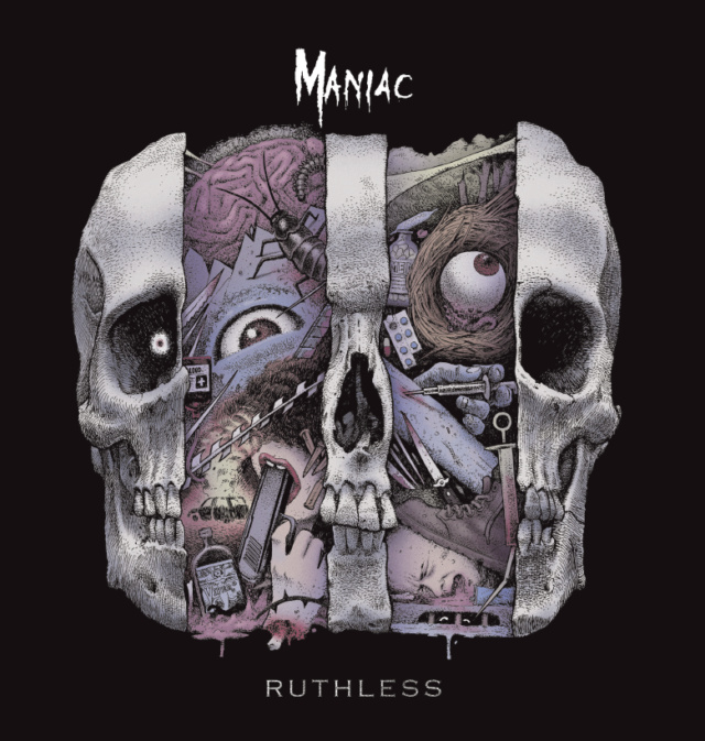 "MANIAC  ""Ruthless"" (JAN 2019) Maniac12"