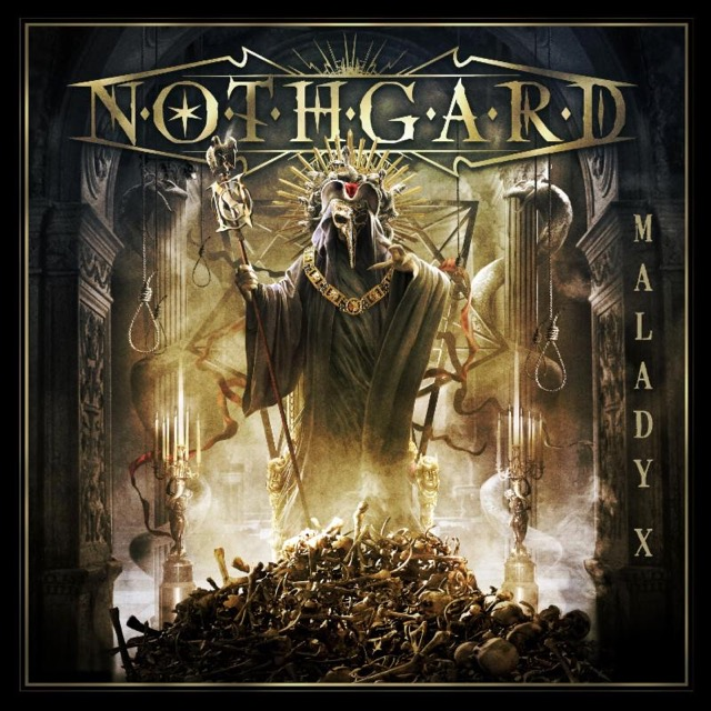 "NOTHGARD  ""Malady X"" (Death Metal Mélodic - OCT 2018) Not10"