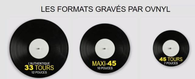 OVNYL Gravure et Pressage de vinyle à l'unité. Ovnyl110