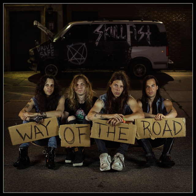 "SKULL FIST   ""Way Of The Road""   (OCT 2018) Skull_10"