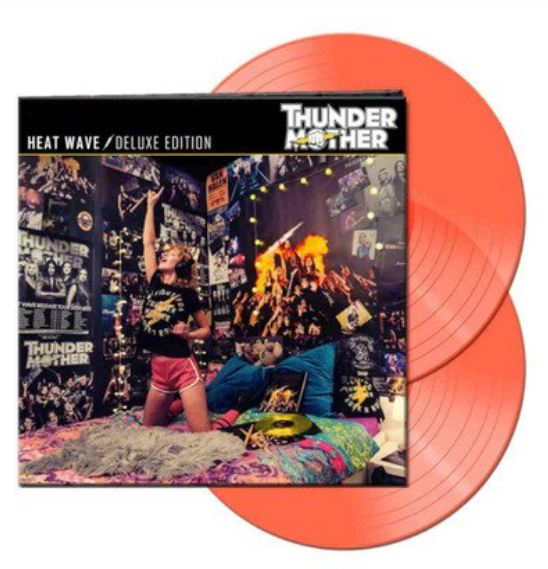 """THUNDERMOTHER """"Heat Wave"""" Deluxe Edition (SEPT 2021) Thu10"""