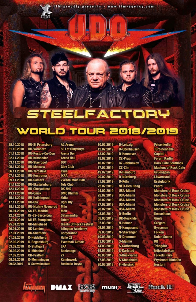 UDO Steel factory (2018) Heavy Metal ALLEMAGNE - Page 2 Udo10