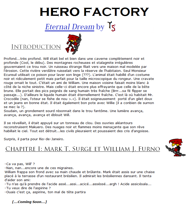 [Fan-Fiction] HERO FACTORY: Eternal Dream Introc13