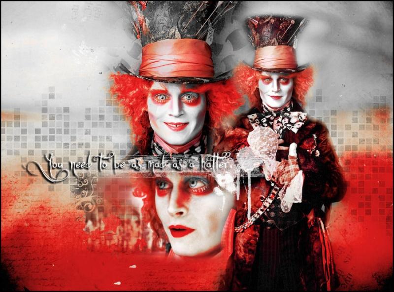 Wallpapers Alice au Pays des Merveilles Mad_ha11