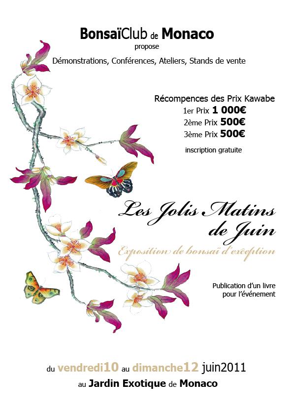 """BONSAI EXHIBITION IN MONACO """"les jolis matins de juin"""" 10 11 12 JUNE 2011 Page_f10"""