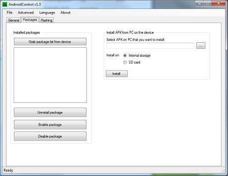 [OUTIL] ANDROIDCONTROL v1.3.1 - Outil multi-fonctions : Gérer votre smartphone à partir du PC - Copie PC <-> Smartphone, install APK,  Reboot, Flash [Gratuit] Packag11