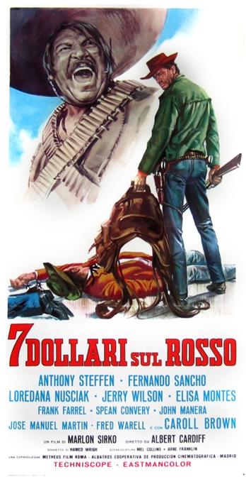 Gringo Joue sur le Rouge (7 Dollarisul Rosso) - 1966 - Alberto Cardone 7dolla11