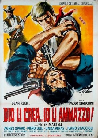Dieu les crée ... moi, je les tue. Dio li crea...Io li ammazzo - 1967 - Paolo Bianchini  Hislif11