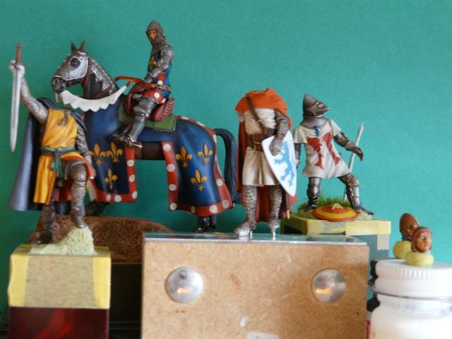 Mes chevaliers en cours P1040410