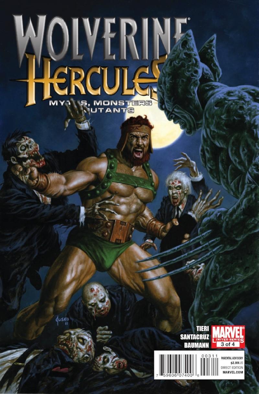 Wolverine/Hercules: Myths, Monsters & Mutants #3 (of 4) Prv85010