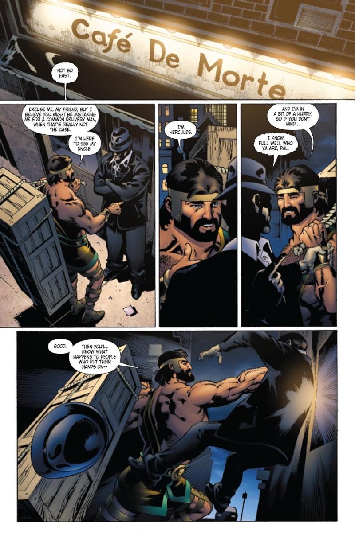 Wolverine/Hercules: Myths, Monsters & Mutants #3 (of 4) Prv85012