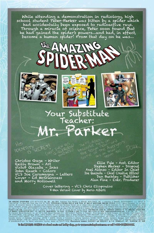 Amazing Spider-Man #661 Prv86512