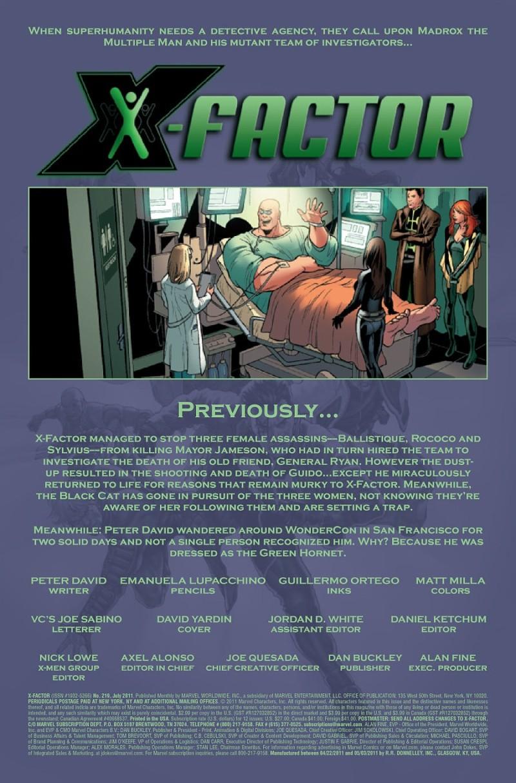X-Factor #219 Prv86683