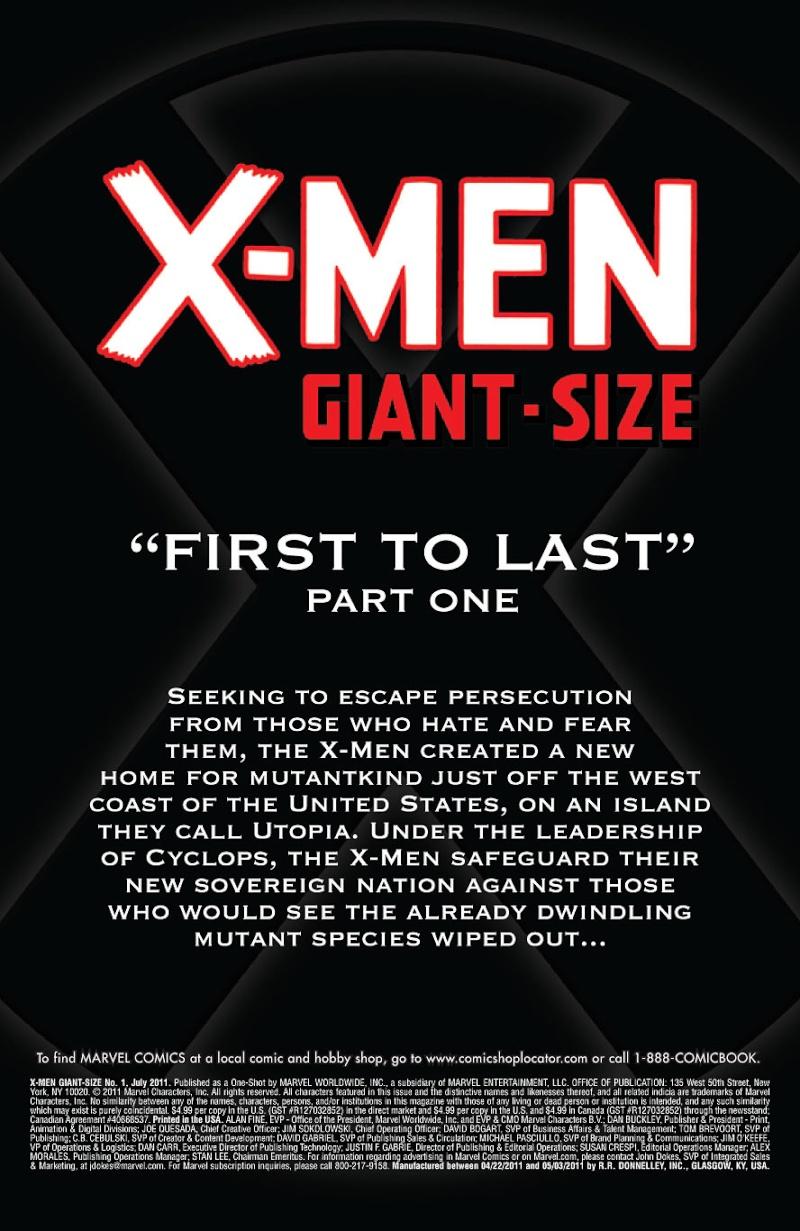 X-Men Giant Size #1 Prv86714