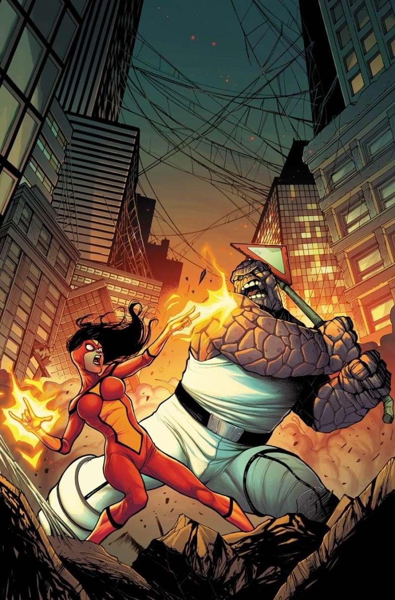 Spider Island: Spider Woman #1 Smisw010