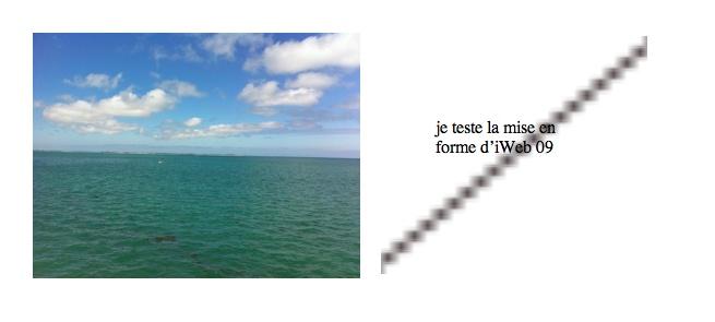 Problème lors de la publication dans un dossier Iweb_110