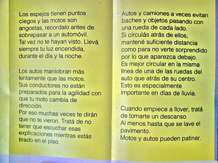 """""""Compartamos las Calles"""" Folleto de la CABA Basura15"""