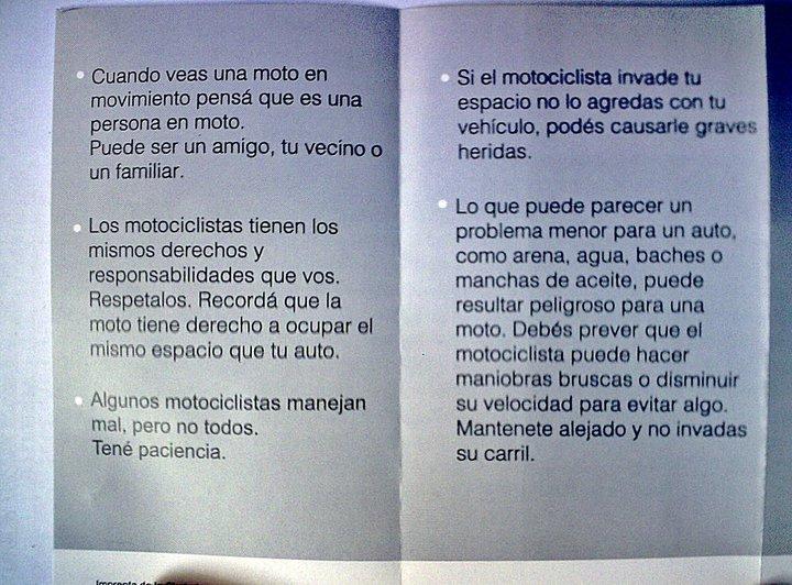 """""""Compartamos las Calles"""" Folleto de la CABA Basura18"""