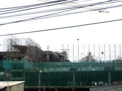 Sập công trình ở Phú Mỹ Hưng To-211
