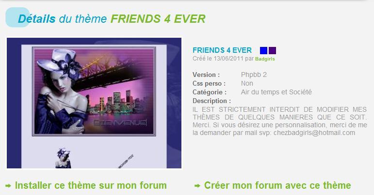 THÈMES INCLASSABLES  Friend10