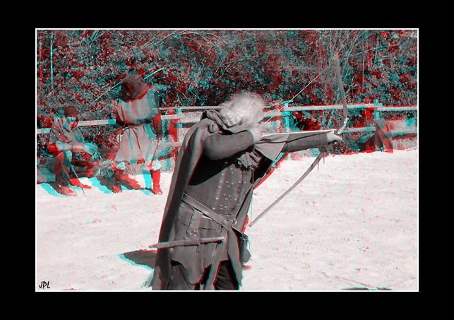 photo 3D du spectacle du plessis saint jean 2010  Archer12