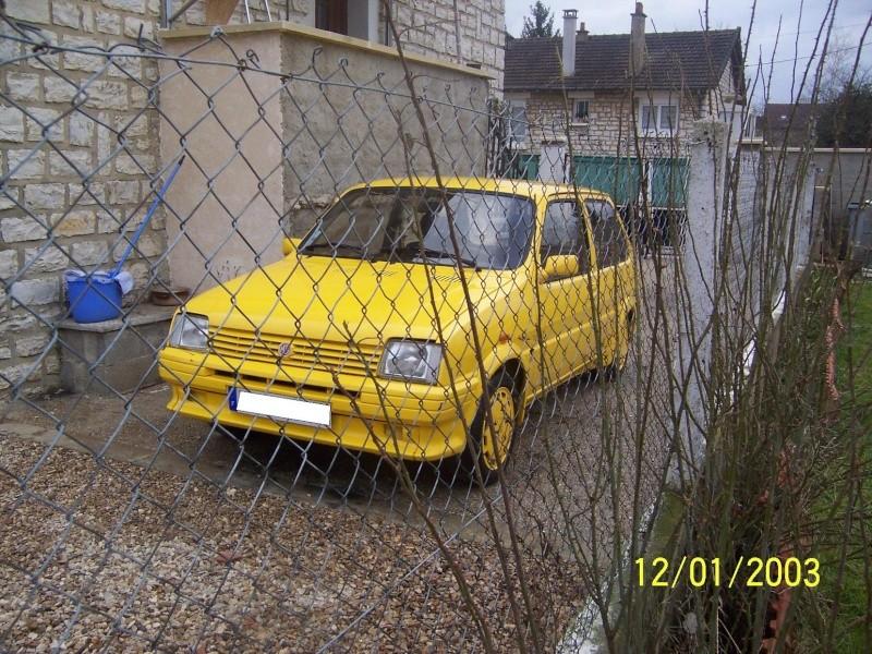 """Bip-bip : Metro turbo mk2 """"all yellow"""" LHD  Metro_23"""