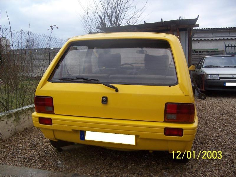 """Bip-bip : Metro turbo mk2 """"all yellow"""" LHD  Metro_27"""