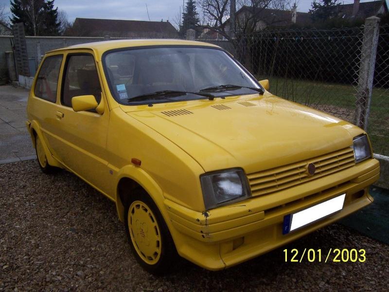 """Bip-bip : Metro turbo mk2 """"all yellow"""" LHD  Metro_28"""