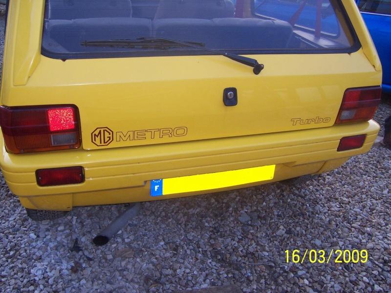 """Bip-bip : Metro turbo mk2 """"all yellow"""" LHD  Metro_44"""