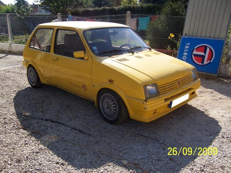 """Bip-bip : Metro turbo mk2 """"all yellow"""" LHD  - Page 2 Metro_51"""