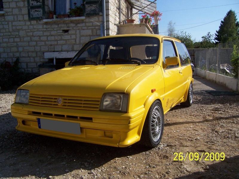 """Bip-bip : Metro turbo mk2 """"all yellow"""" LHD  - Page 2 Metro_52"""