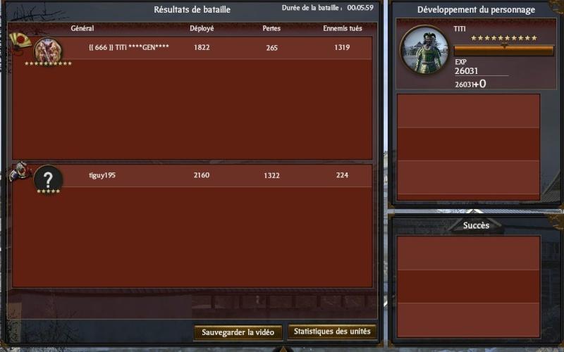 victoires sur shogun 2 Victo146